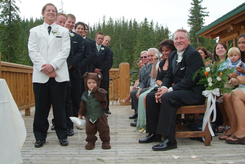 wedding ring bear-er
